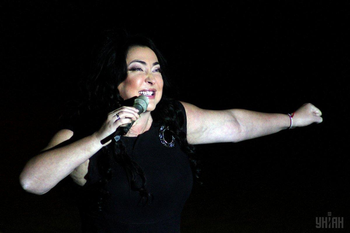Лолита выступала под фонограмму / Фото УНИАН