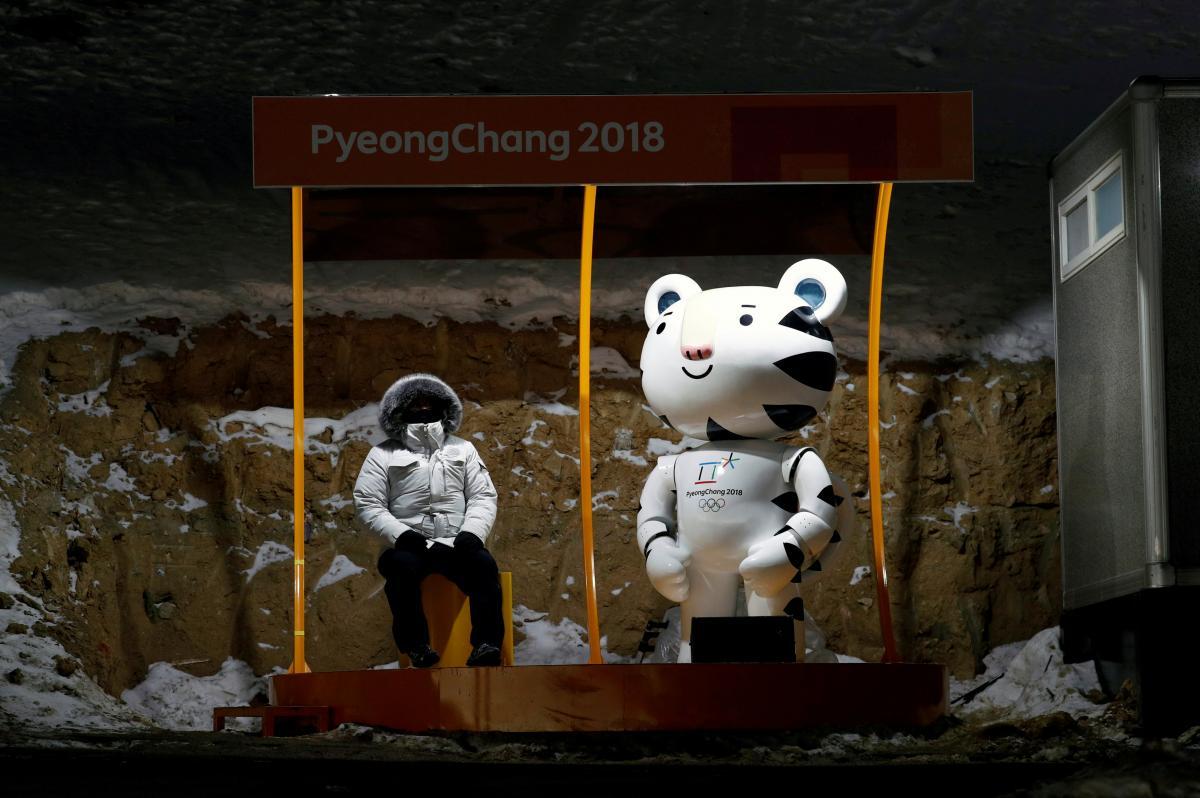 Нынешняя зимняя Олимпиада оказалась чрезвычайно холодной и ветреной / REUTERS/Edgar Su