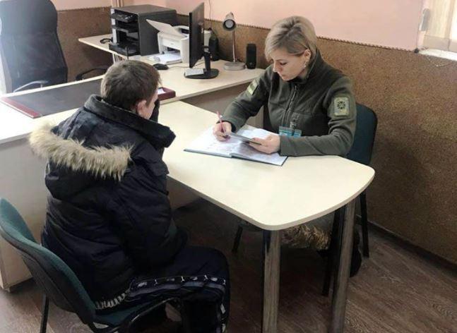Житель Львовщины хотел пересечь государственную границу в самый простой способ / Facebook, Западное региональное управление Госпогранслужбы Украины-Западную границу