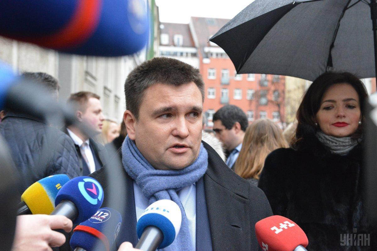 Климкин подтверждает переноса встречи в «нормандском формате» / фото УНИАН