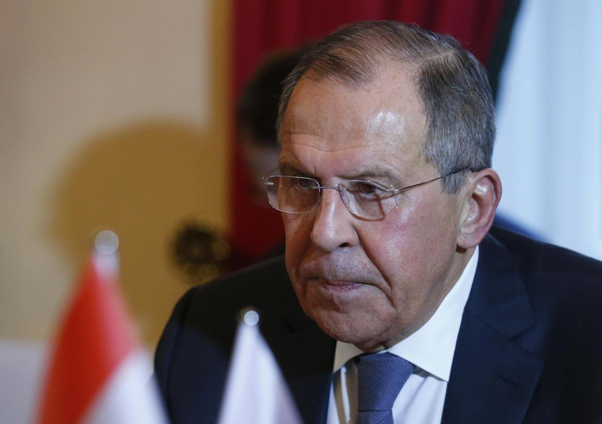 Министр иностранных дел РФ Сергей Лавров / фото REUTERS