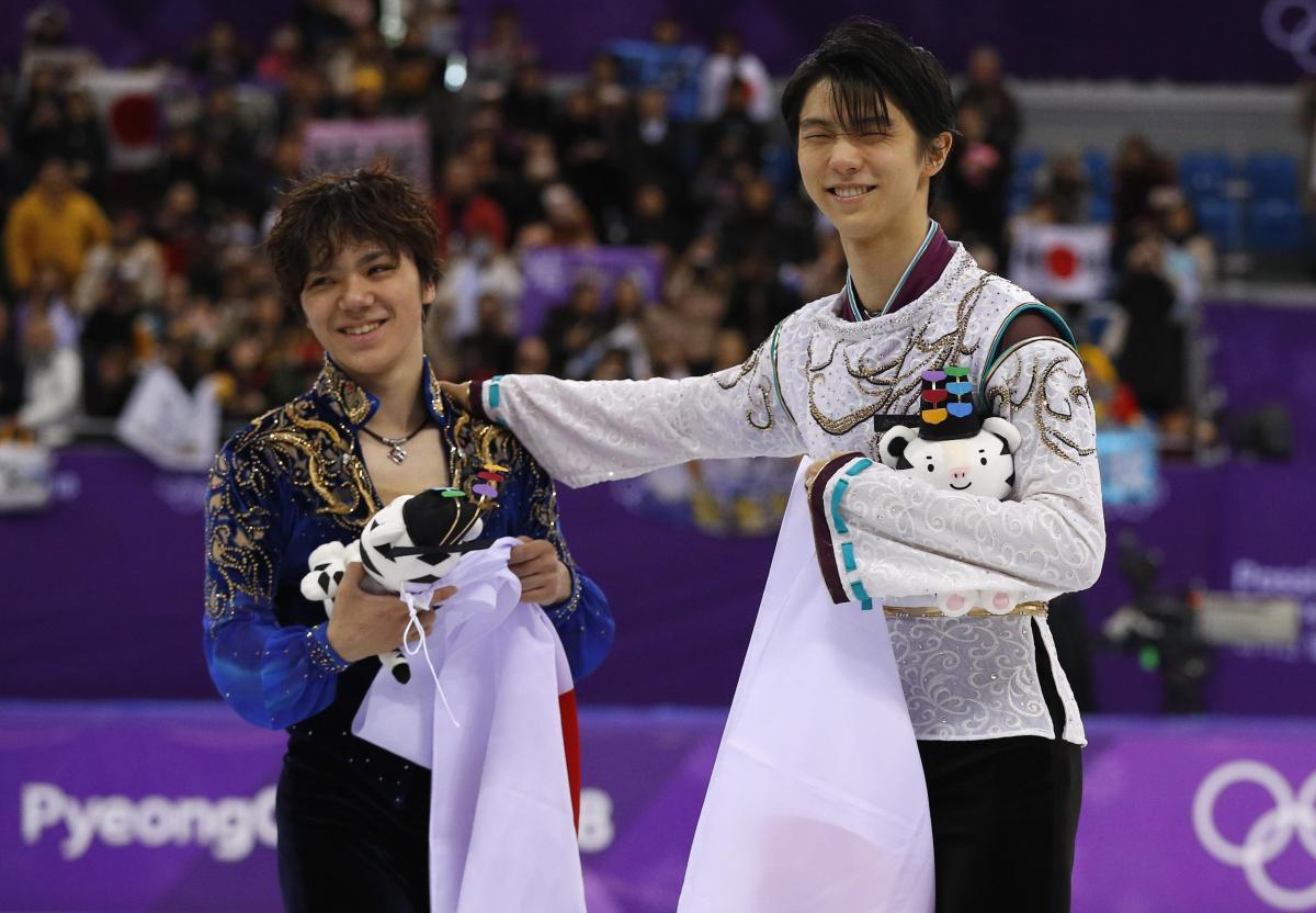 Фігуристи з Японії зайняли перші метса в підсумковому протоколі чоловічого одиночного турніру / Reuters