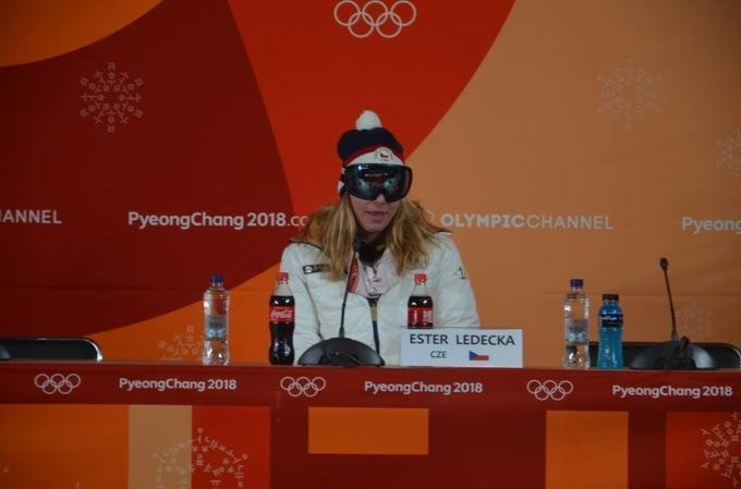 Чеська олімпійська чемпіонка не підготувалася до прес-конференції / isopt.ua