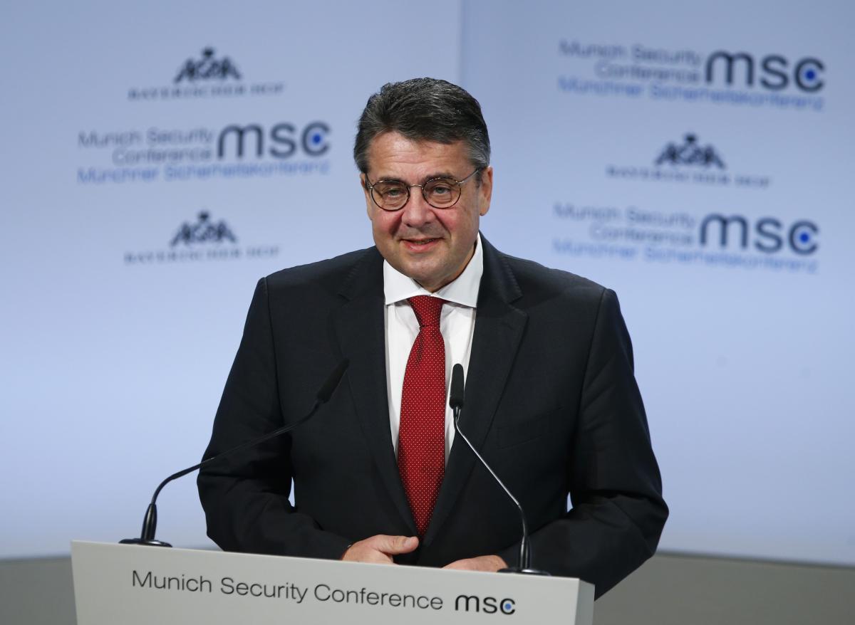 Министр иностранных дел Германии Зигмар Габриэль / фото REUTERS