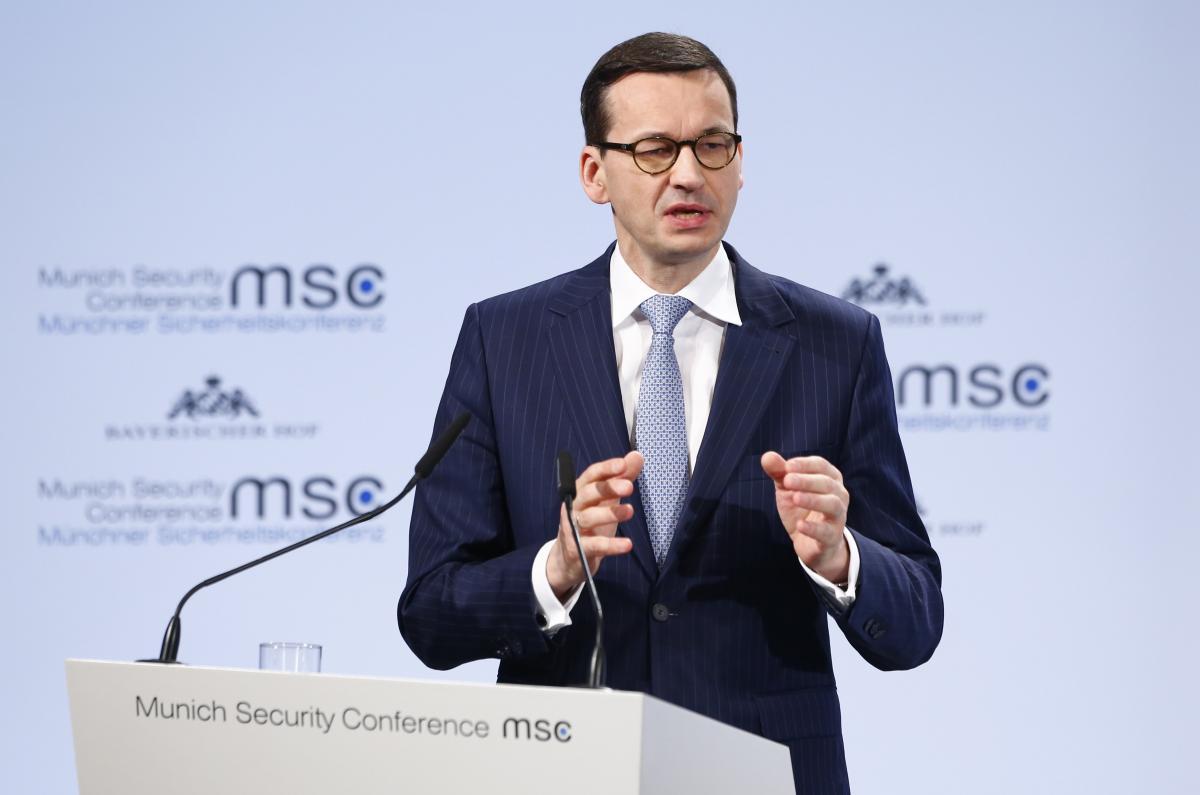 Премьер-министр Польши Матеуш Моравецкий / фото REUTERS