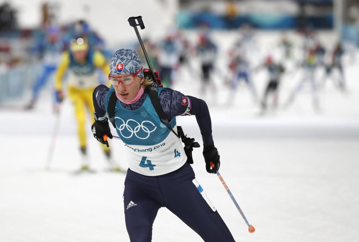Кузьміна виграла золото в гонці мас-старт Олімпіади / Reuters