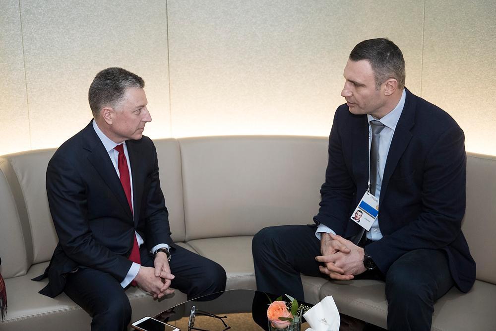 Кличко в Мюнхені: Важливо нарешті знайти формулу створення миротворчої місії під егідою ООН