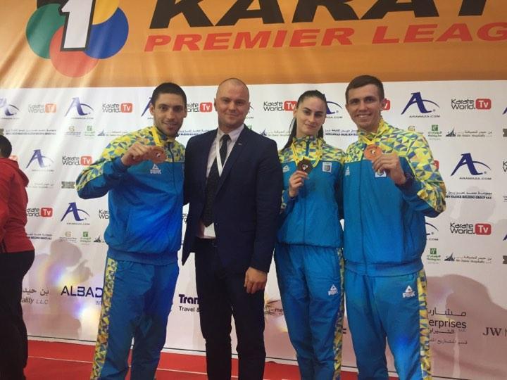 Украинцы завоевали в Дубае три награды / wkf.com.ua