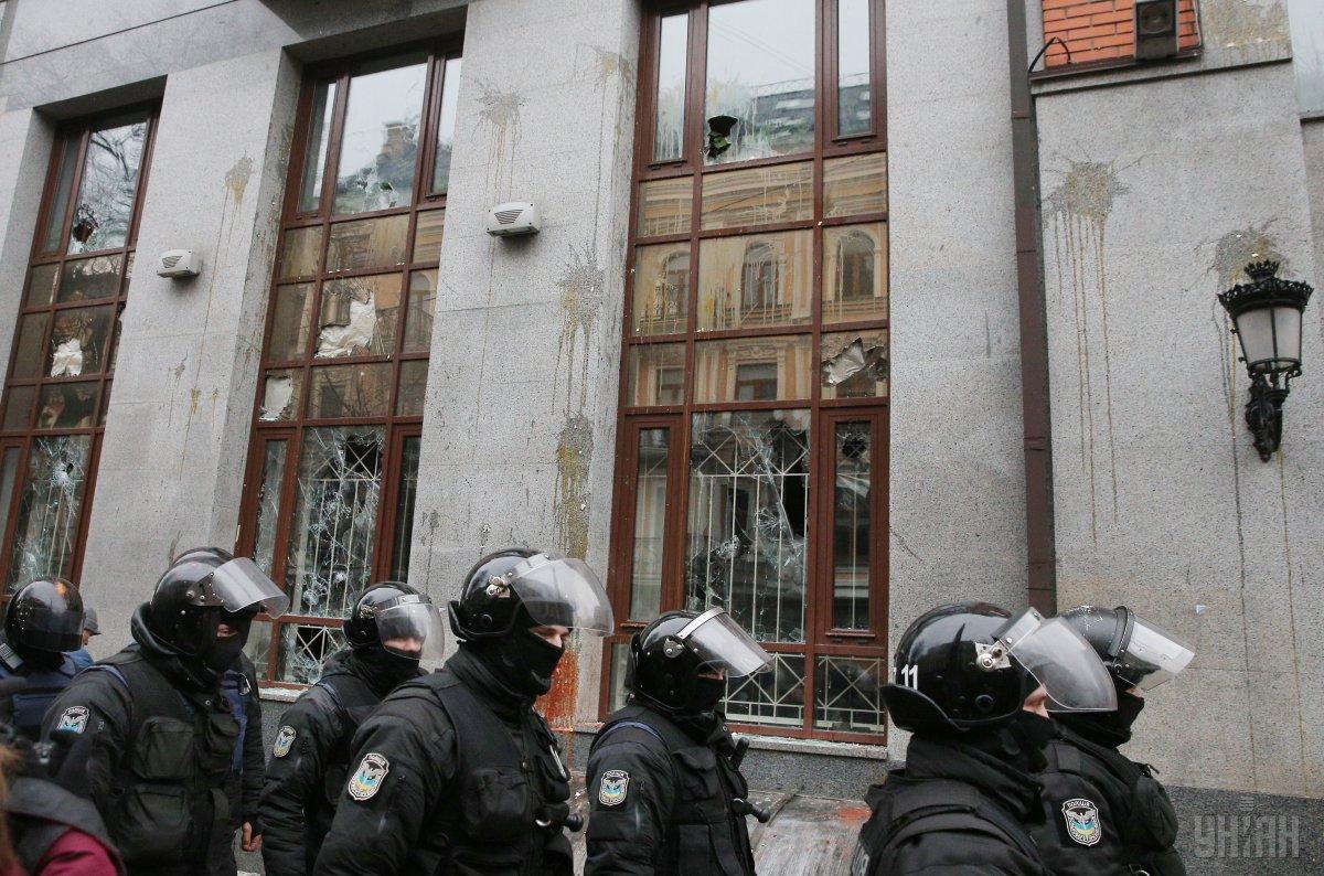 В полиции рассказали, кто понесет ответственность за разбитые российские банки / фото УНИАН