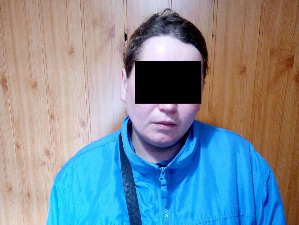 """Пограничники задержали на Донбассе участницу """"Оплота"""" / фото dpsu.gov.ua"""