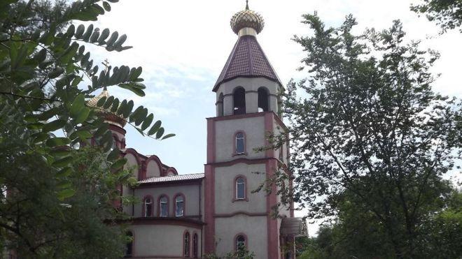 Стрілянина сталася біля храму Георгія Побідоносця / bbc.com
