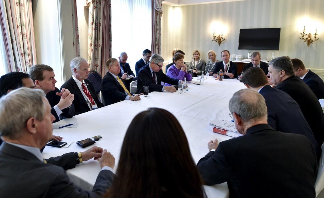 Порошенко встретился с американскими конгрессменами / фото УНИАН