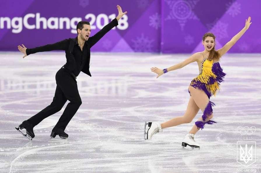 Максим Нікітін і Олександра Назарова / НОК України