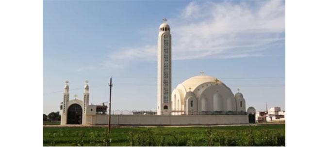 Храм в ім'я Лівійських новомучеників в Ал-Оуре / aleteia.org