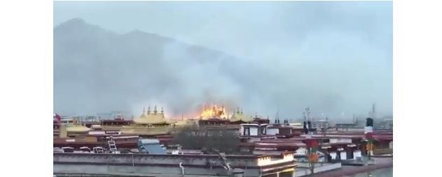 Буддийский храм Джоканг / скриншот bbc.com