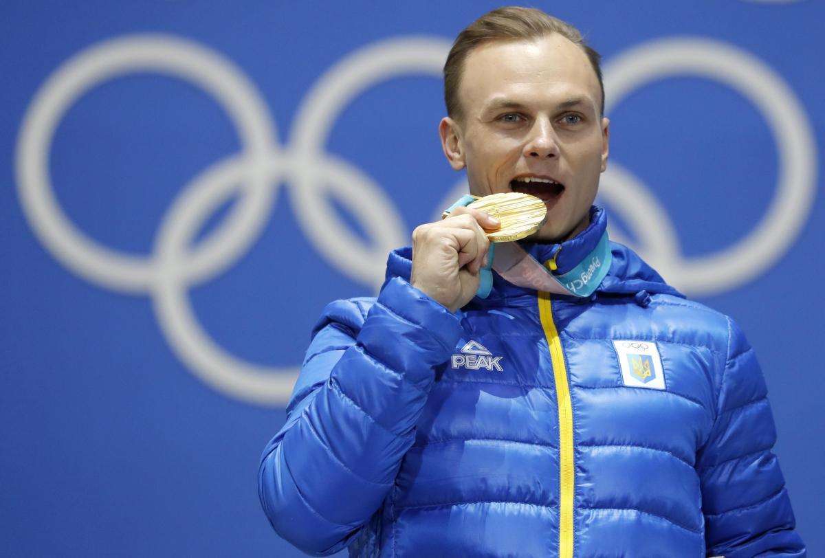 Абраменко стал первым укранскимчемпионом-мужчиной зимних Игр за годы Независимостти/ REUTERS