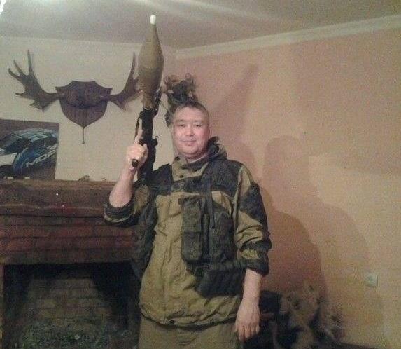 Косотуров обучал на Донбассе батальон боевика Прилепина / фото znak.com