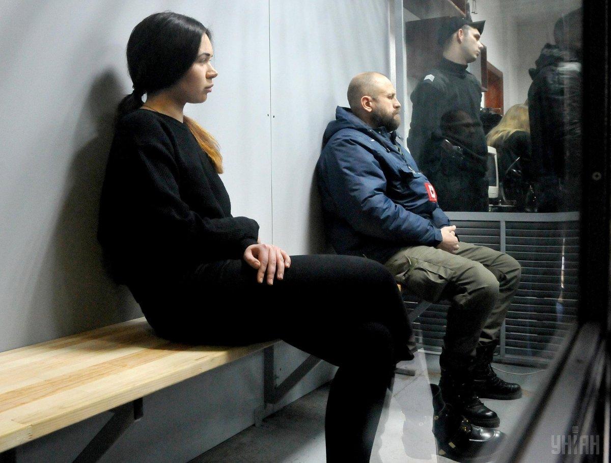 Зайцевій та Дронову продовжили арешт на два місяці / фото УНІАН