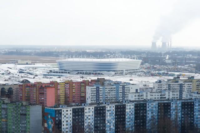 Подготовка кЧМ в РФ: один изстадионов начал проваливаться под землю