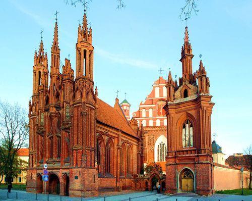 Костел Святої Анни у Вільнюсі / blagovest-info.ru