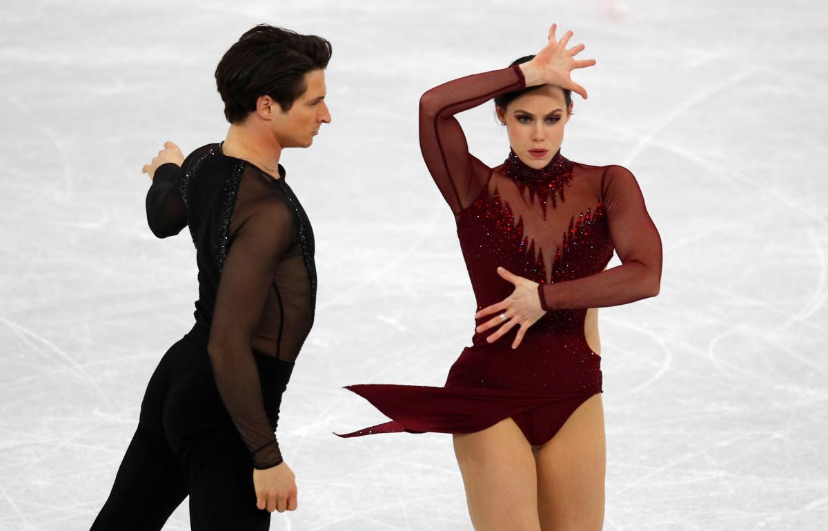 Вирт и Моир стали олимпийскими чемпионами в состязаниях танцевальных дуэтов / Reuters