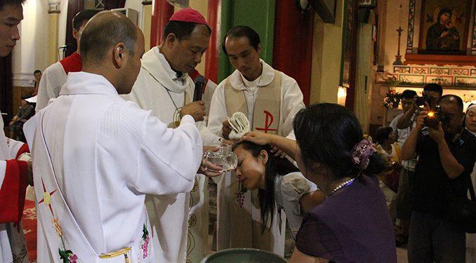 В списке лидеров по крещению уже в который раз лидирует провинция Хэбэй / fides.org
