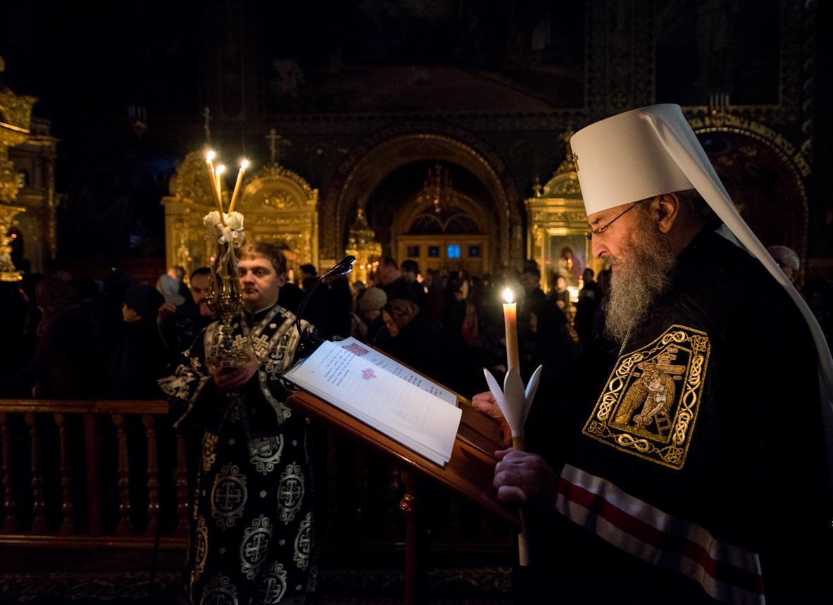 Предстоятель УПЦ совершил чтение второй части Покаянного канона / news.church.ua