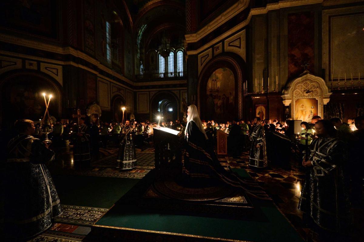 Патриарх отметил, что праздность ведет человека к пустоте духовной / foto.patriarchia.ru