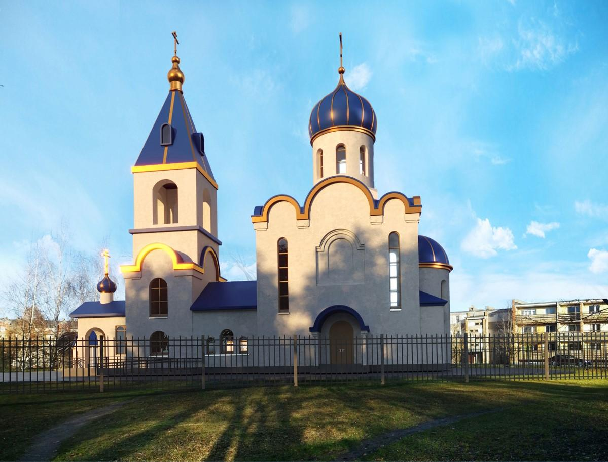 проект строительства православного храма был одобрен властями / adazubaznica.lv
