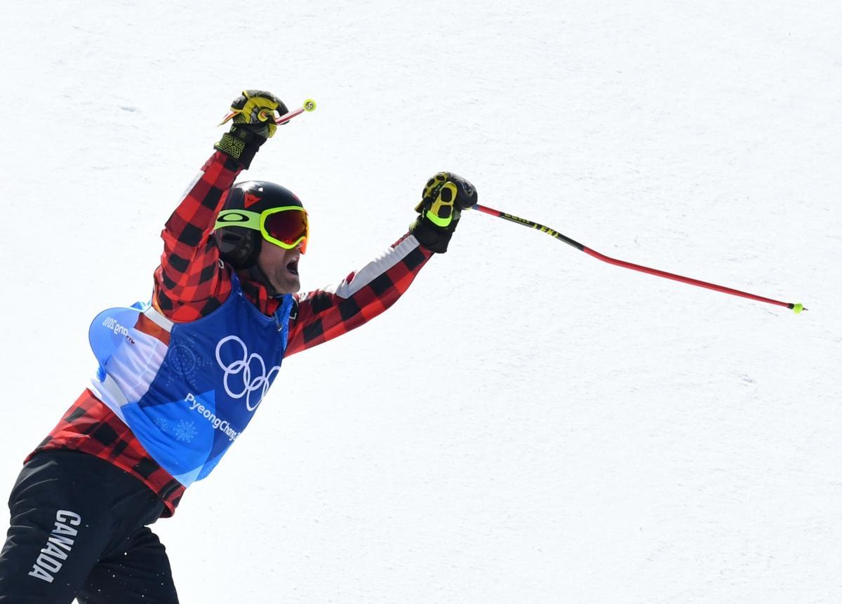 Канадец Лимен завоевал золото Игр в ски-кроссе / Reuters