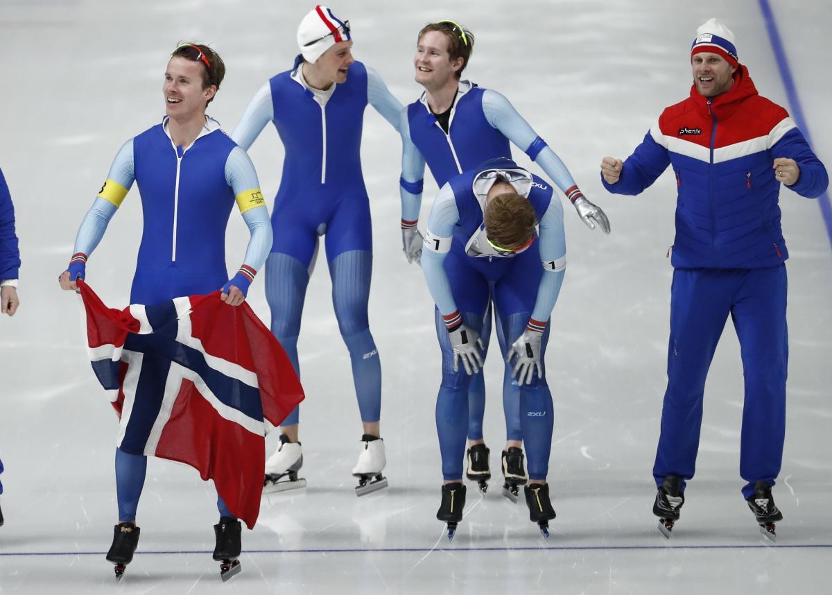 Збірна Норвегії - олімпійський чемпіон / REUTERS