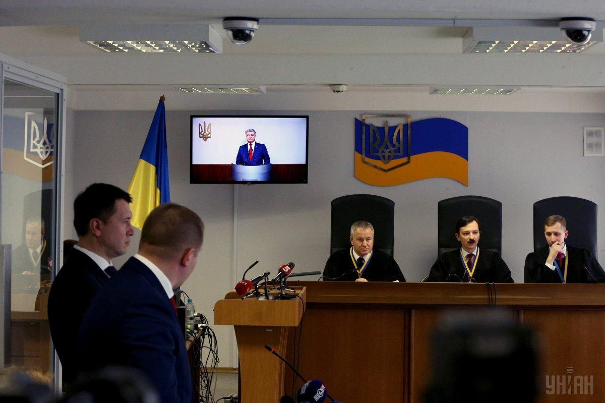 Допрос Порошенко прекратили после вопроса о Мальдивах / Фото УНИАН