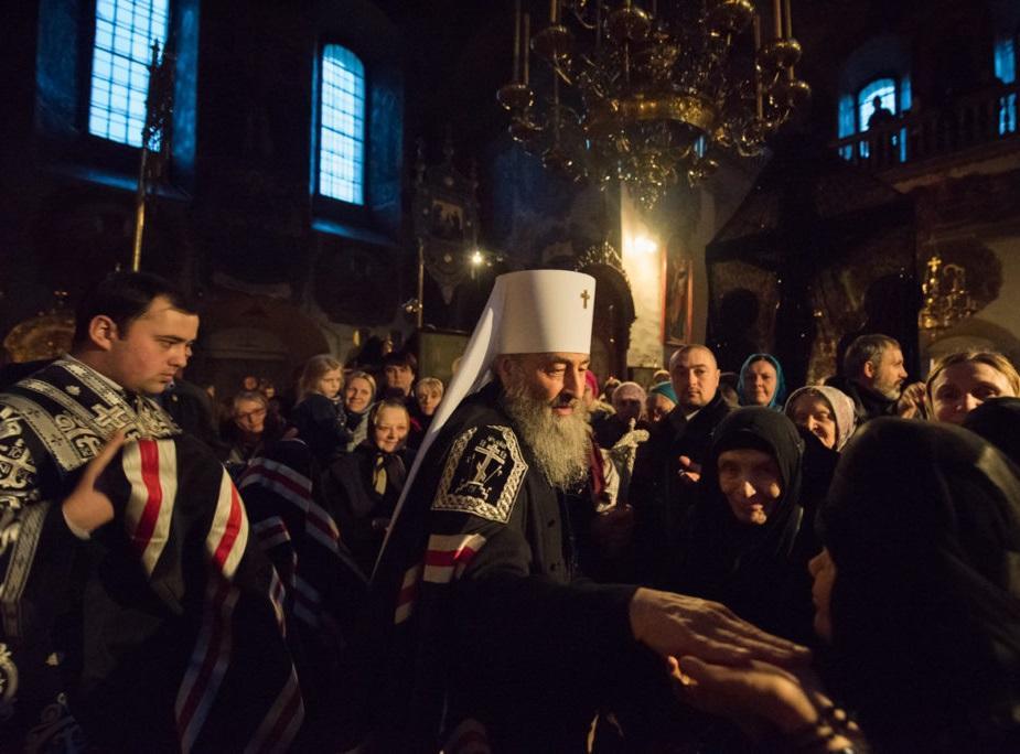 Після звершення Великого канону Предстоятель звернувся до пастви / news.church.ua