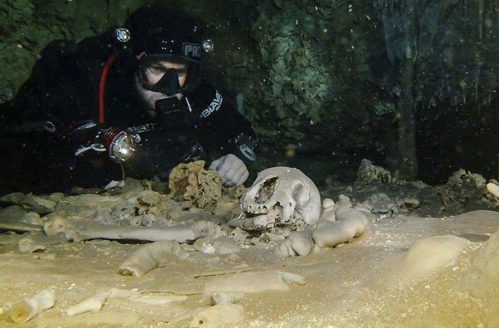 Общая длина подводного лабиринта состовляет 347 киллометров / фото INAH