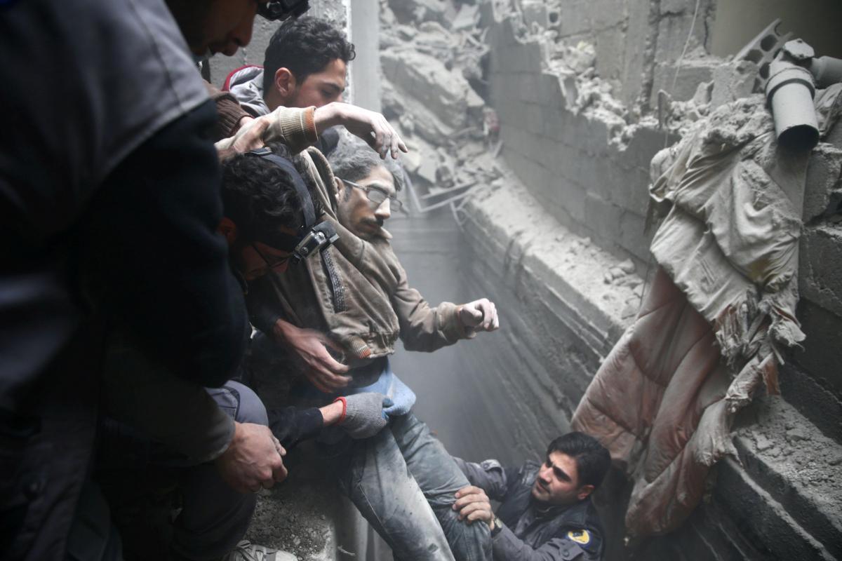 Госдеп потребовал отРФ иАсада мгновенного предотвращения огня вСирии