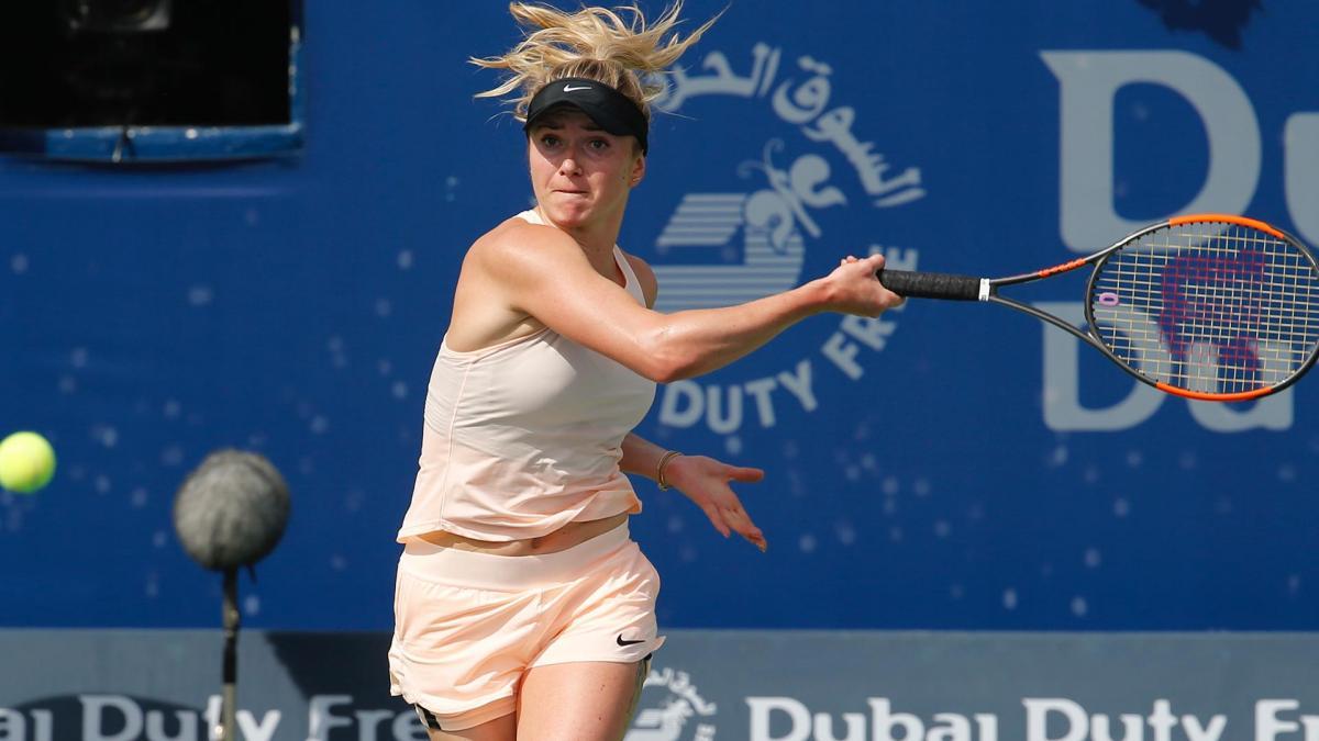 Элина Свитолина сыграет в полуфинале с Анжелик Кербер / Dubai Duty Free Tennis Championships
