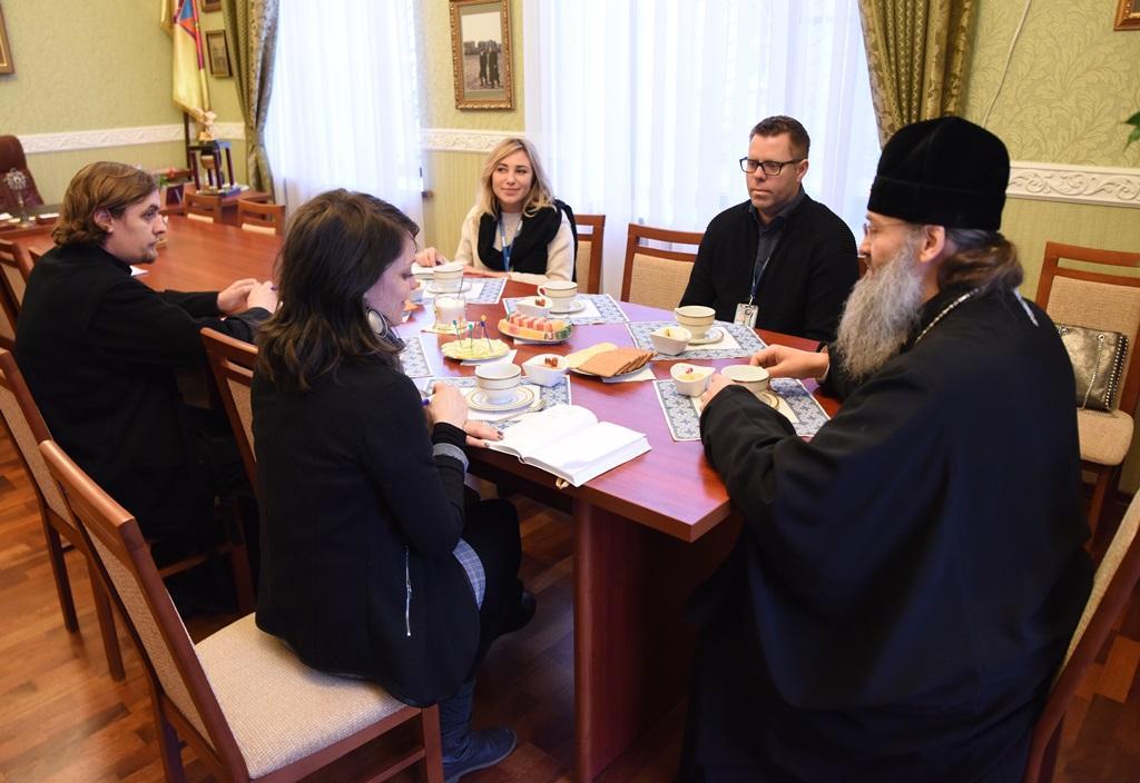 Митрополит Лука информировал представителей ОБСЕ о традициях Православной Церкви / hram.zp.ua