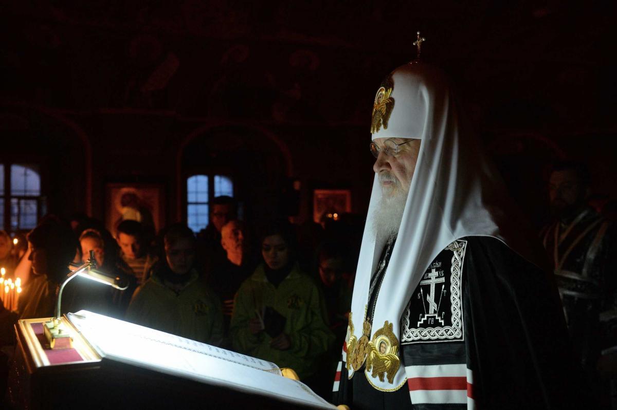 Патріарх Кирило розповів про гріх пустослів'я / foto.patriarchia.ru