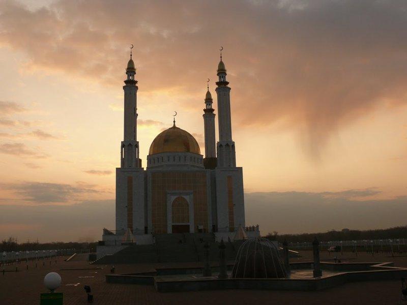 Фото: Мечеть Нур Гасыр, Казахстан / today.kz