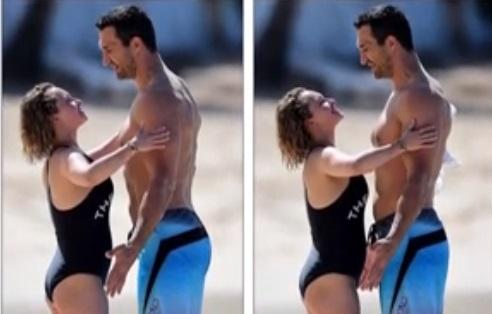 Кличка заскочили із коханою на пляжі / Скріншот