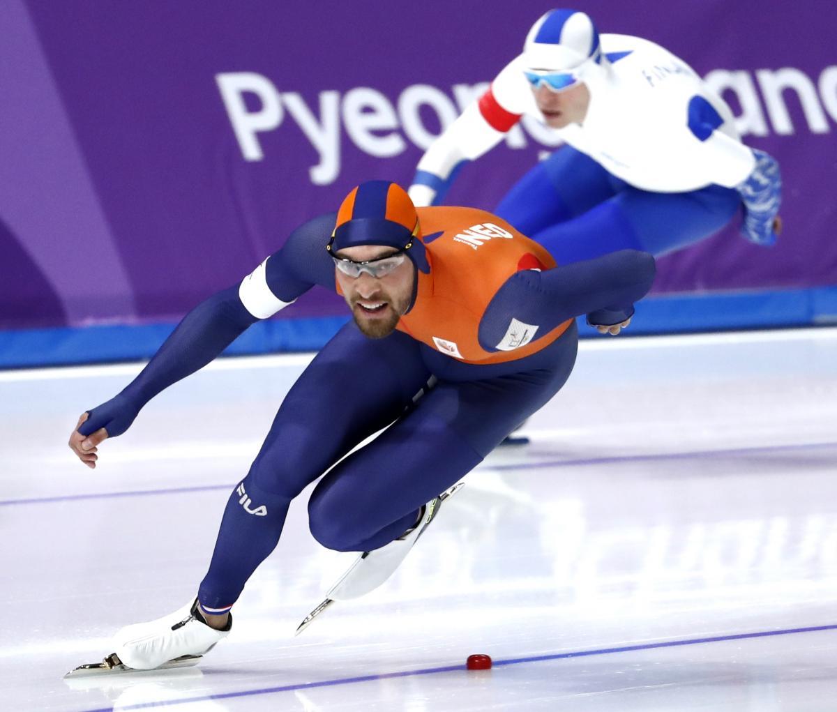 Кьелд Найс принес Голландии очередное золото / Reuters