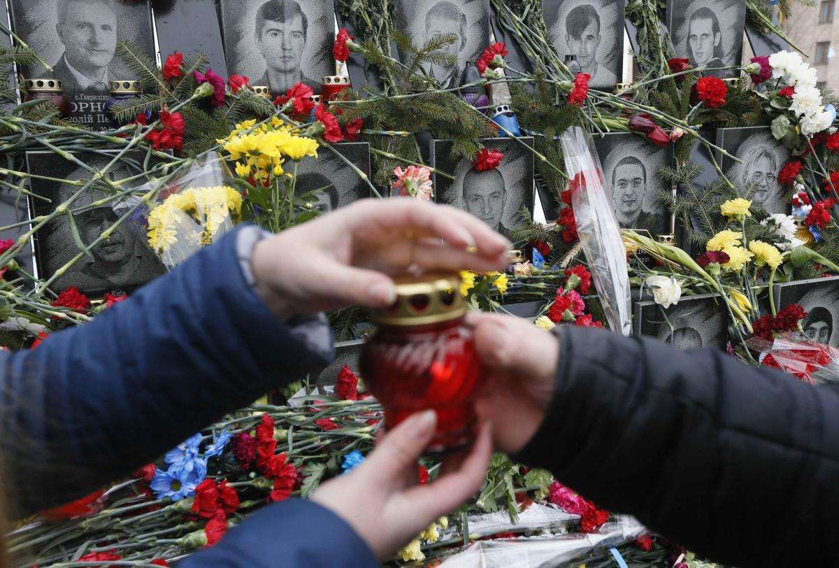 Меморіал загиблих на Майдані / REUTERS, Valentyn Ogirenko
