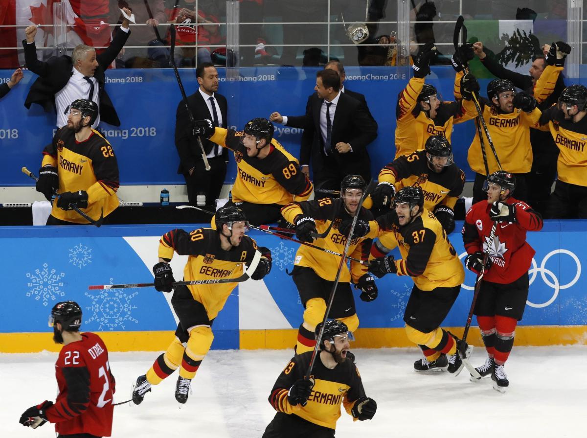 Немецкие хоккеисты уже сотворили главную сенсацию Олимпиады / Reuters