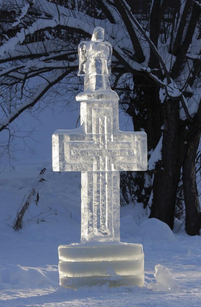 Крест с Ангелом к Богоявлению / martyr.ru