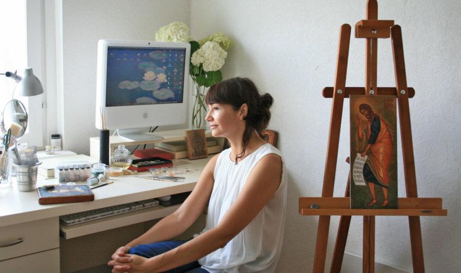 Авторська технологія живопису художниці визнана унікальною / minsknews.by