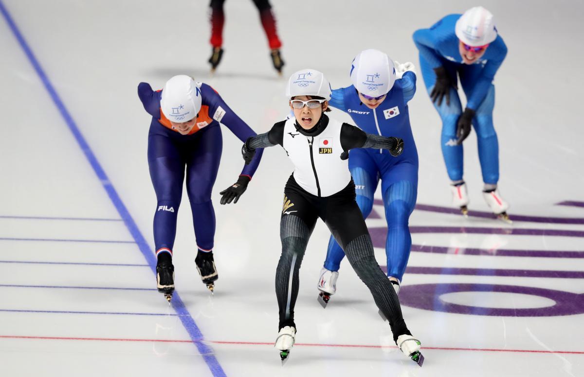 Такаги принесла Японии золотую медаль Игр в конькобежном спорте / Reuters