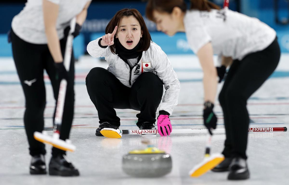Сборная Японии ыиграла бронзу Олимпиады в керлинге / REUTERS