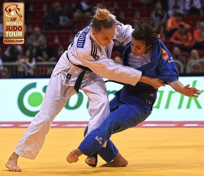 Дарья Белодед вишрала золото на турнире Grand Slam в Дюссельдорфе / ukrainejudo.com