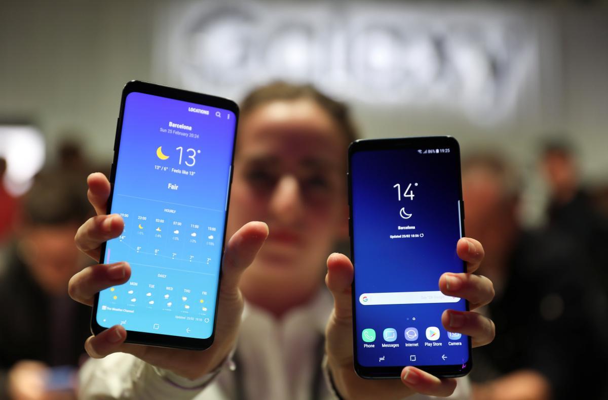 Samsung представила новые смартфоны Galaxy S9 и Galaxy S9+