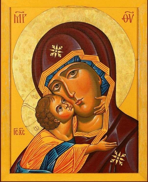 Икона Божией Матери Владимирская-Десятинная / desyatynniy.org